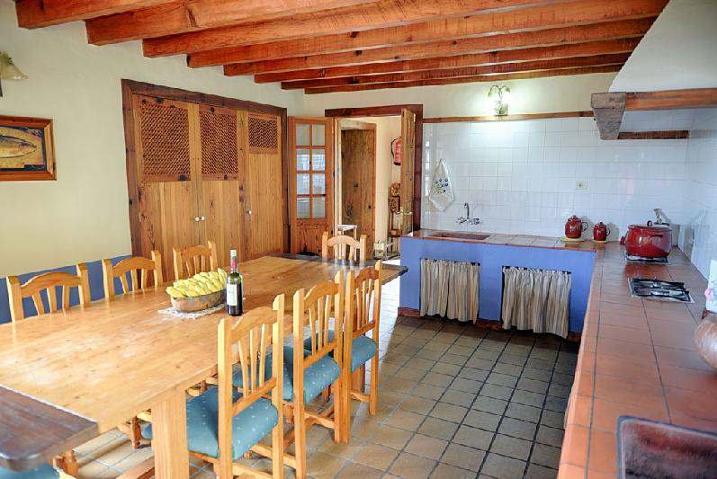 Villa Salazar kitchen