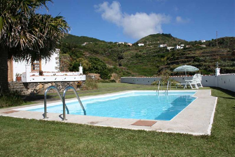 family house with swimming pool la palma canary islands