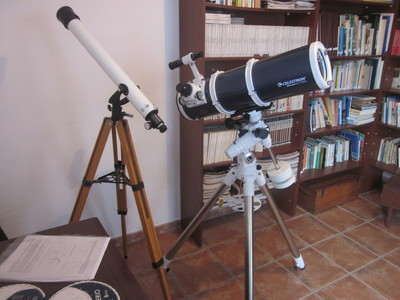 Villa Asuncion telescope with tuition la Palma