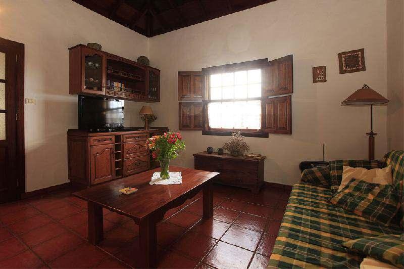 Lounge of Casa Rural Oliva la Palma Puntagorda