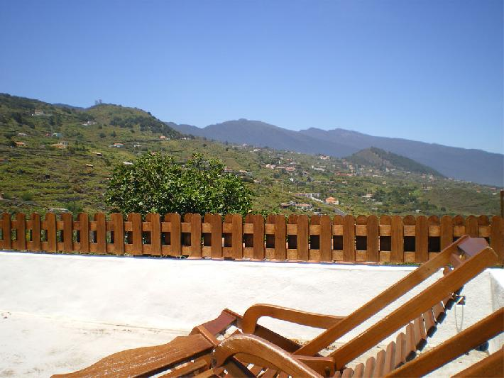Casa El Molino roof terrace looking inland