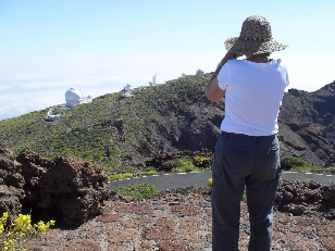 observing the observatory