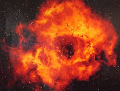 Rosette Nebula INT Roque de Muchachos ORB