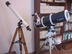 telescopes available with holiday home la palma