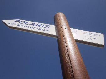 Polaris - viewing areas for astronomy on la palma