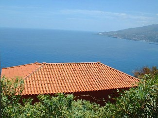 casa victoria roof top and sea view