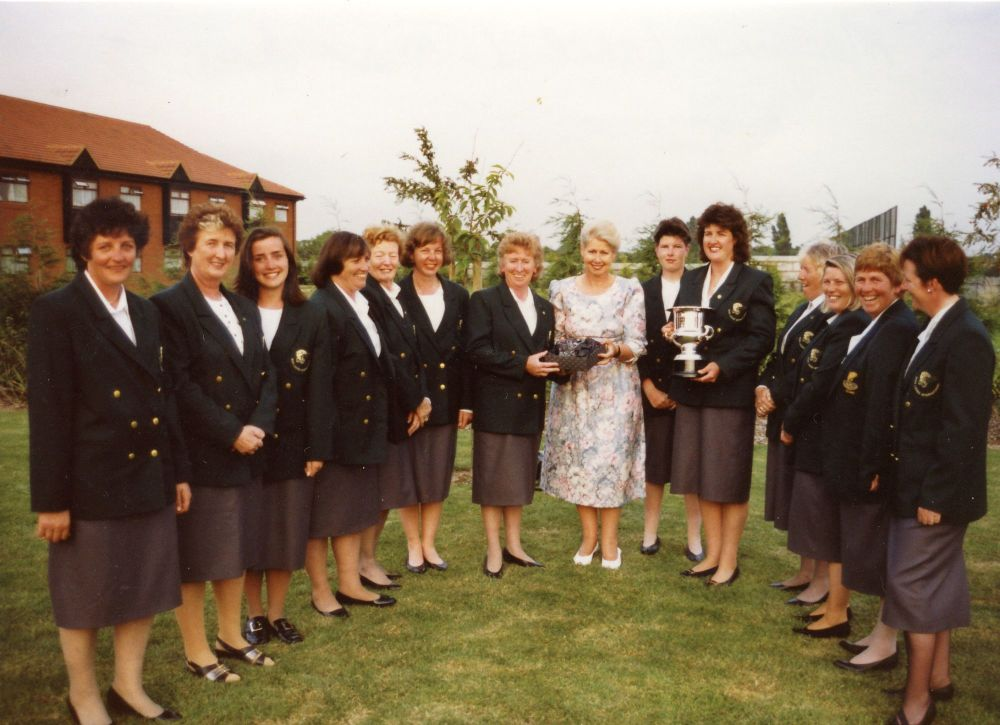 Ann Geary, RIP. The 1st Irish Ladies Flyfishing Team 1991, at Ruthland Wate