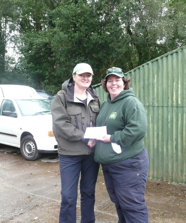 Caragh 2012 Top angler Anne