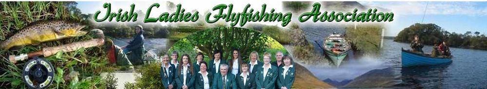 Irish Ladies Flyfishing Association, site logo.