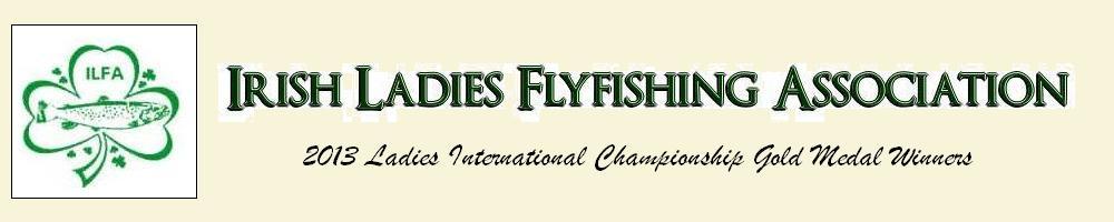 Irish Ladies Flyfishing Association, site logo.