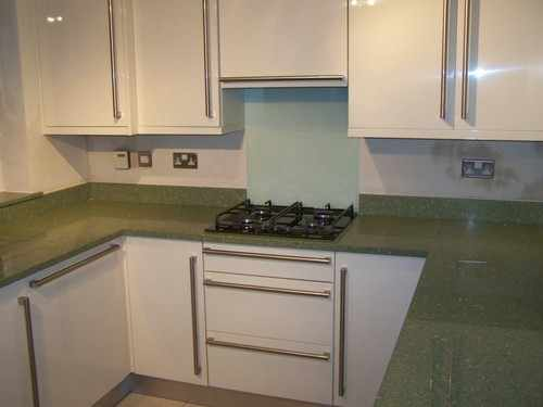 Java Cream, Silestone tops