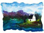 Coastal cottage- A6 tent fold photo card (1010557)