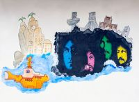 Beatles Graffiti (L030A)