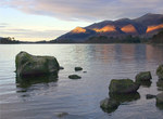 Derwentwater in the Evening Light, Lake District - Photographic Print