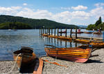 Rowing Boats on Lake Windermere, Cumbria (4022)