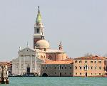 San Giorgio Maggiore, Venice - tent fold photo card