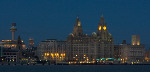 Liverpool waterfront at night (4783)