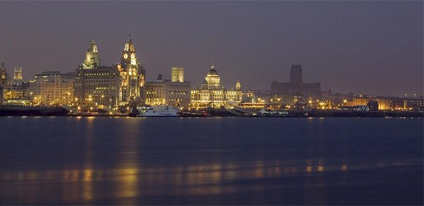 Liverpool Waterfront photographic Print