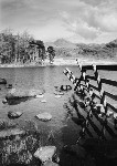 Blea Tarn - Lake District, Cumbria - Monochrome Photographic Print