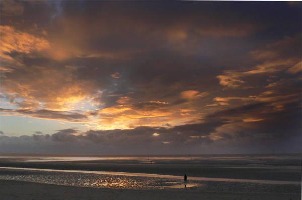 mersey-dusk - photographic Print