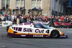 Jaguar Le Mans 24 hour race winner - Tent fold photo card