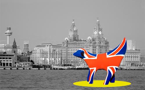 L015 Superlambana with mono Liverpool Waterfront
