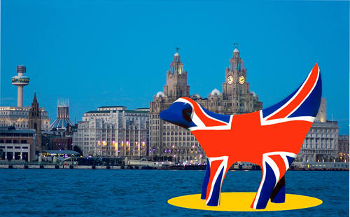 L014 Superlambanana and Liverpool waterfront