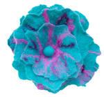 Handfelted flower corsage (P1010484)