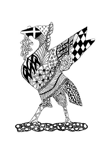 L009-liver-bird-zentangle