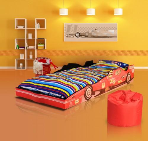 The F1 Racing Car Bed + Mattress