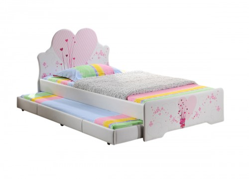 The Love Heart Bed + Trundle + Mattress