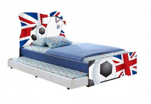 The Union Football Bed + Trundle + Mattress