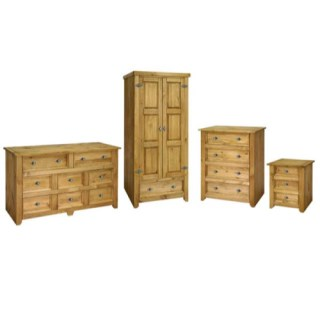 The Core Products Mayville 4 Piece Bedroom Set