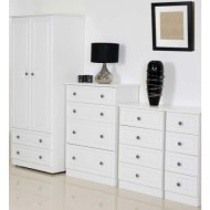 The Amelie 4 Piece White Bedroom Set