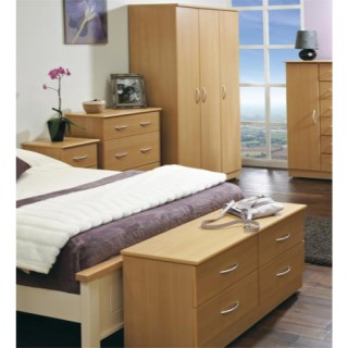 The Stratford 5 Piece Bedroom Furniture Set (beech)
