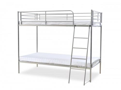 The Torquay Metal Bunk Bed + Mattress