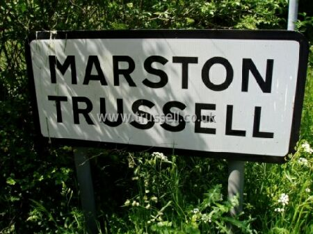 Marston Trussell - Road Sign