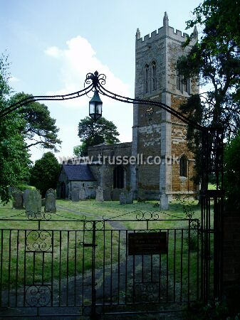 Marston Trussell - St Nicholas Parish Church