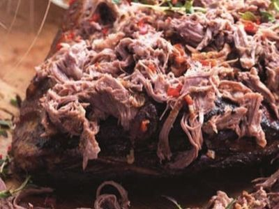 Pulled Lamb Shoulder