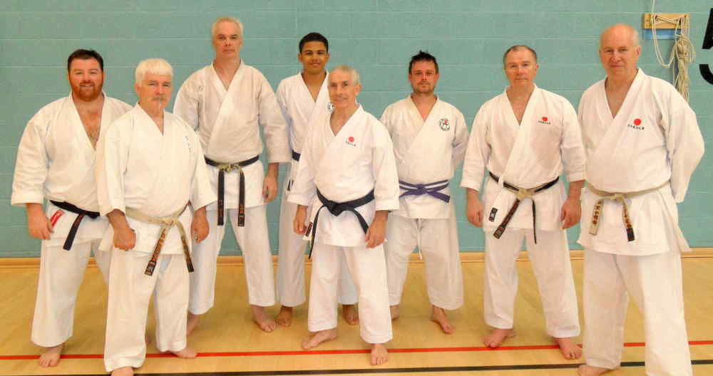 Stock Members with Sensei`s Sherry,Poynton,Rhodes and Brennan