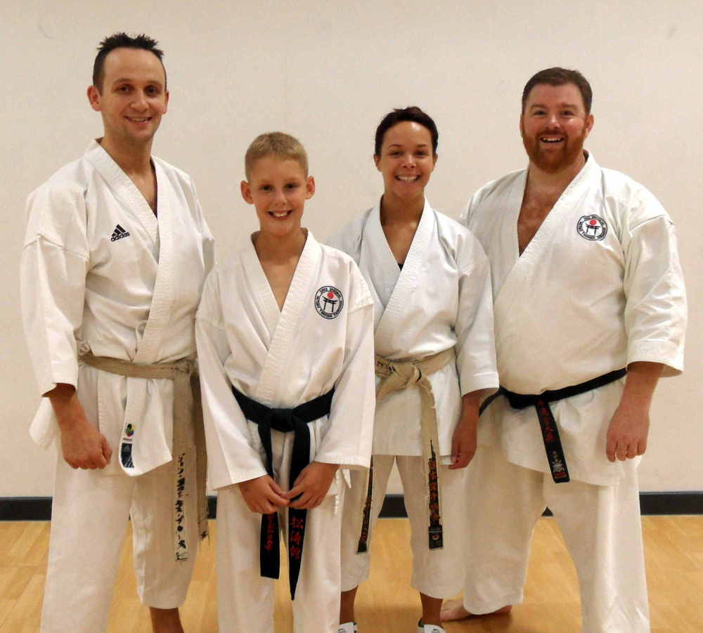Sensei John & Holly Course Ipswich 2015