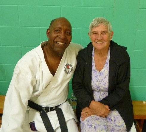 Sensei Terry with Sensei Dot