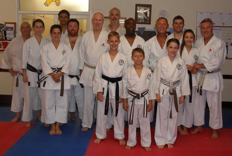 Lesson with Sensei Poynton July 2015