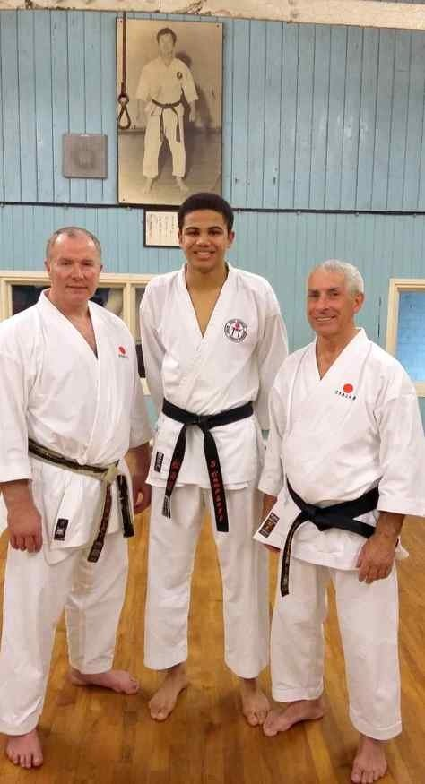 Sam England Junior Kumite Squad 2016