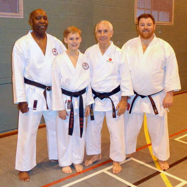 Chelmsford course Sensei Sherry Feb 2016