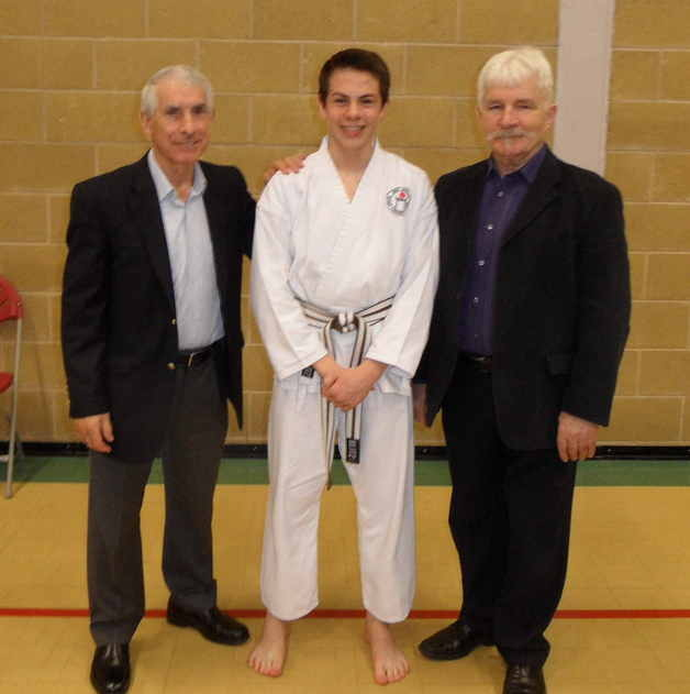 Harry passes black belt