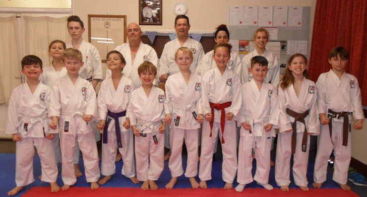 Club Kyu Grading March 17 2016