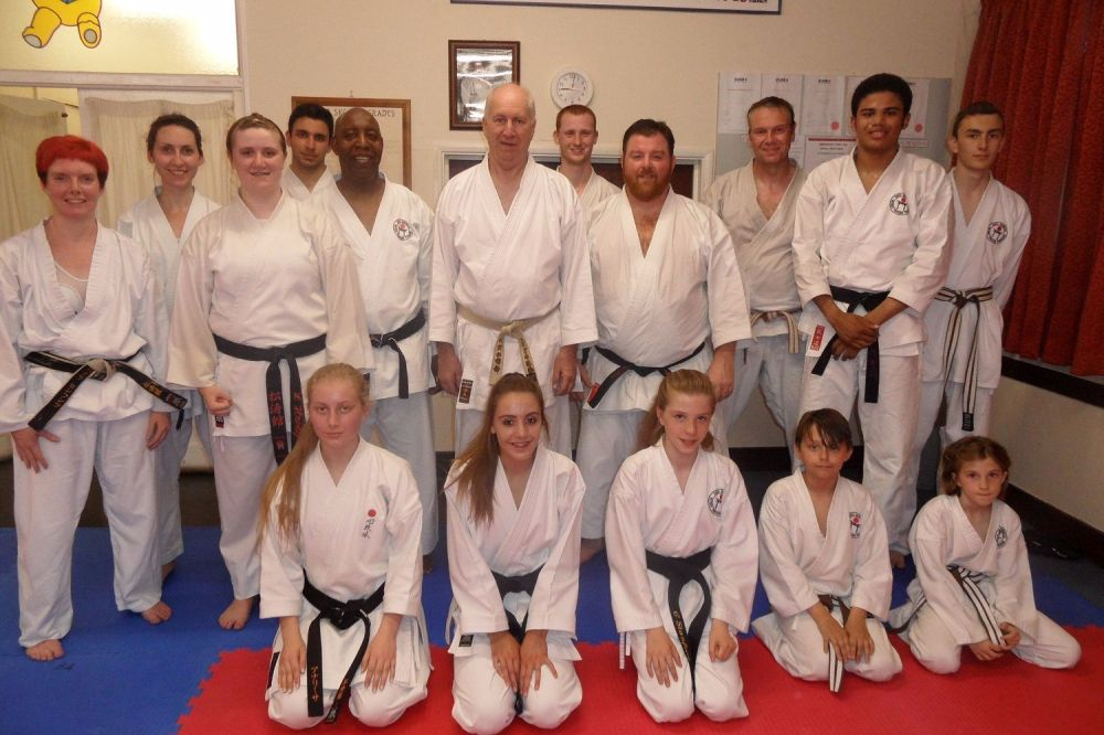 lesson with Sensei Bob Poynton 30th June 2016