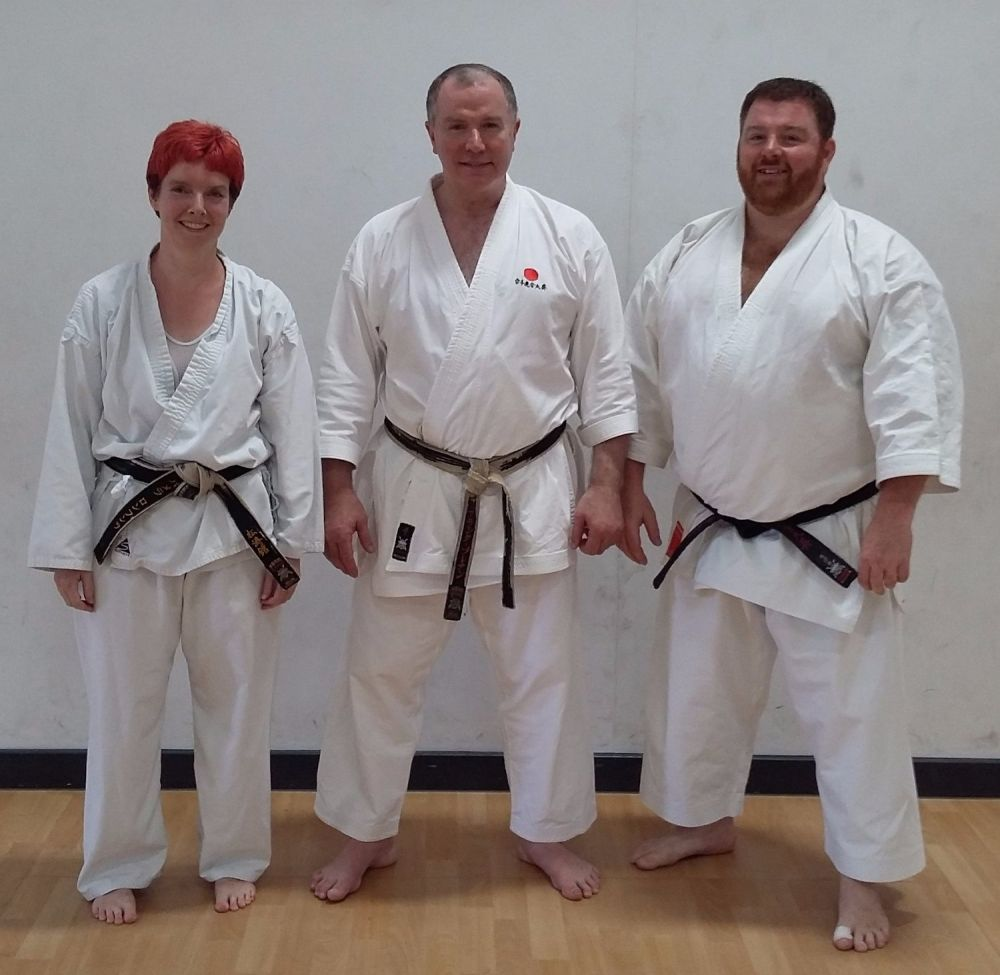 Pam & Adam Sensei Brennan Course 23 July Ipswich
