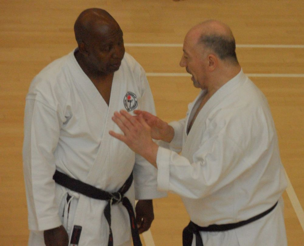 Sensei Terry with Sensei Terry